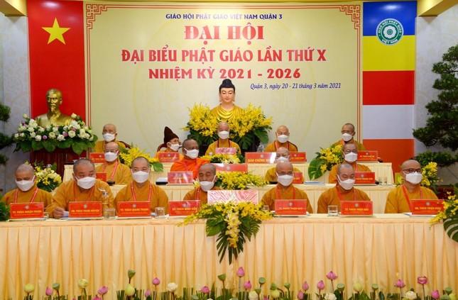 Đại hội đại biểu Phật giáo quận 3 đã suy cử Tân Ban Trị sự nhiệm kỳ 2021-2026 với 34 thành viên ảnh 12