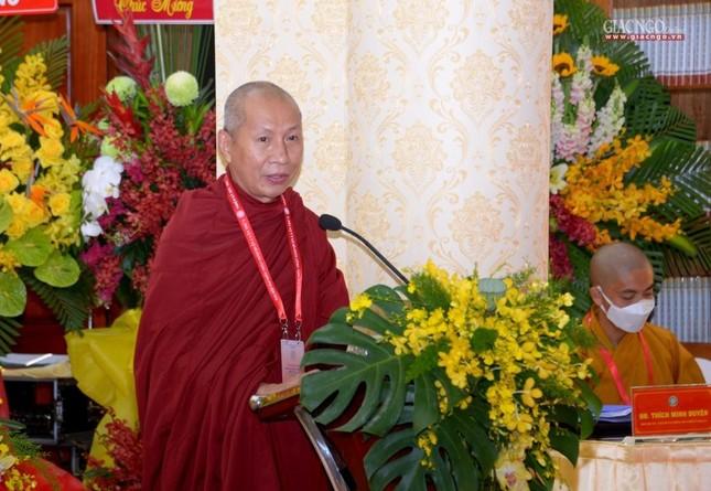 Đại hội đại biểu Phật giáo quận 3 đã suy cử Tân Ban Trị sự nhiệm kỳ 2021-2026 với 34 thành viên ảnh 13