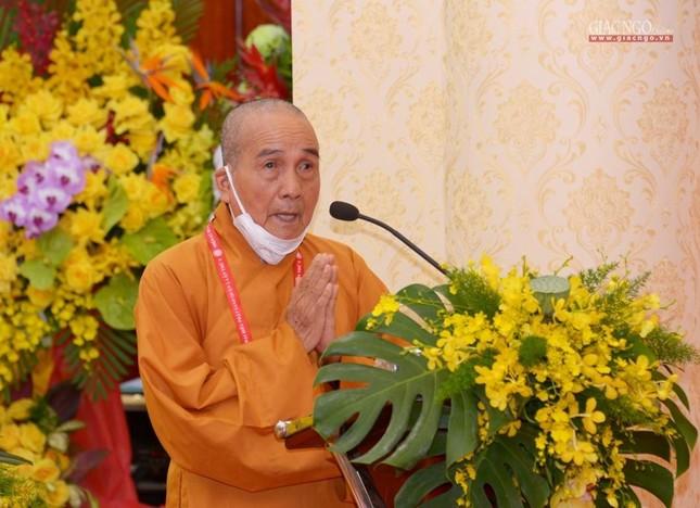 Đại hội đại biểu Phật giáo quận 3 đã suy cử Tân Ban Trị sự nhiệm kỳ 2021-2026 với 34 thành viên ảnh 2