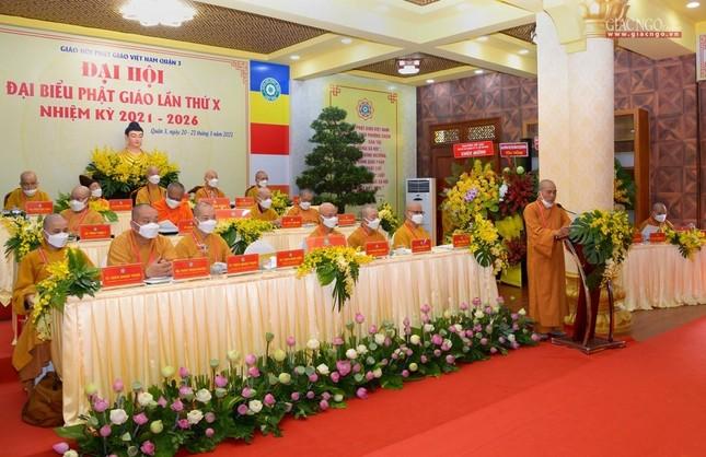 Đại hội đại biểu Phật giáo quận 3 đã suy cử Tân Ban Trị sự nhiệm kỳ 2021-2026 với 34 thành viên ảnh 14