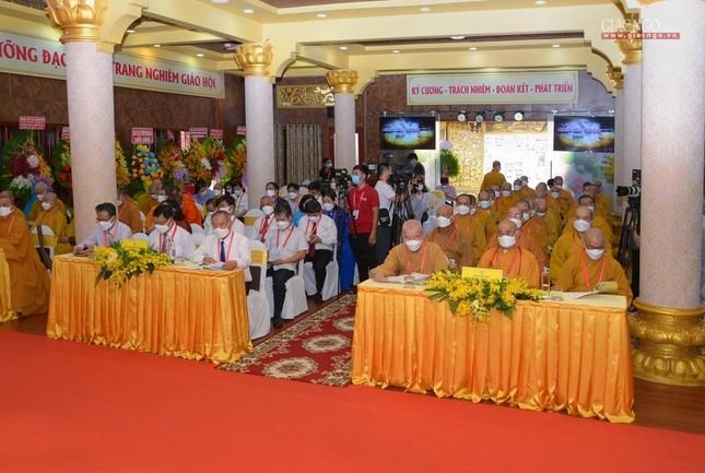 Đại hội đại biểu Phật giáo quận 3 đã suy cử Tân Ban Trị sự nhiệm kỳ 2021-2026 với 34 thành viên ảnh 3