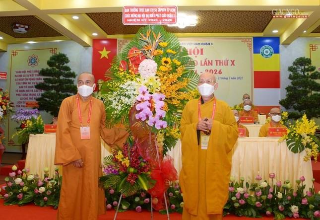 Đại hội đại biểu Phật giáo quận 3 đã suy cử Tân Ban Trị sự nhiệm kỳ 2021-2026 với 34 thành viên ảnh 16