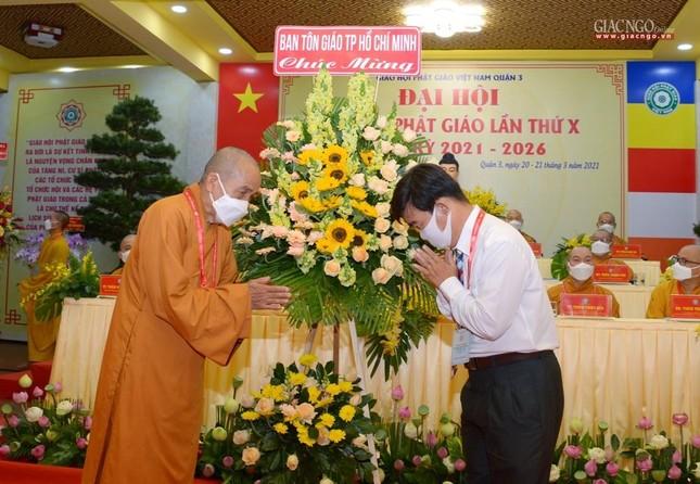 Đại hội đại biểu Phật giáo quận 3 đã suy cử Tân Ban Trị sự nhiệm kỳ 2021-2026 với 34 thành viên ảnh 17