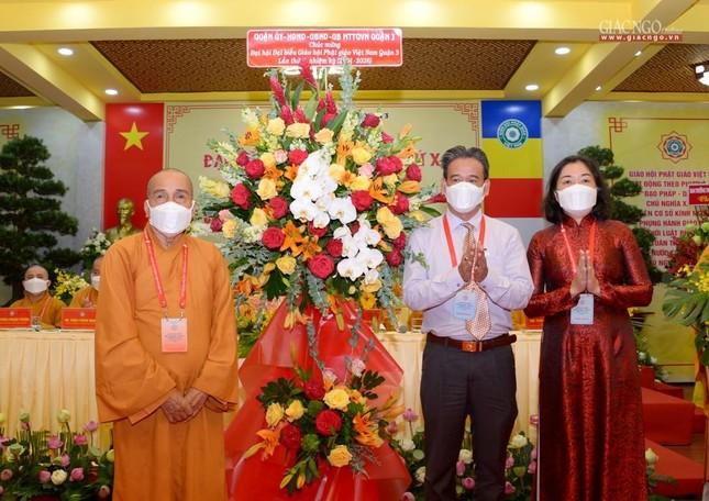 Đại hội đại biểu Phật giáo quận 3 đã suy cử Tân Ban Trị sự nhiệm kỳ 2021-2026 với 34 thành viên ảnh 18