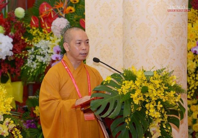 Đại hội đại biểu Phật giáo quận 3 đã suy cử Tân Ban Trị sự nhiệm kỳ 2021-2026 với 34 thành viên ảnh 21