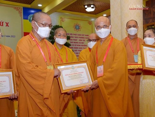 Đại hội đại biểu Phật giáo quận 3 đã suy cử Tân Ban Trị sự nhiệm kỳ 2021-2026 với 34 thành viên ảnh 22