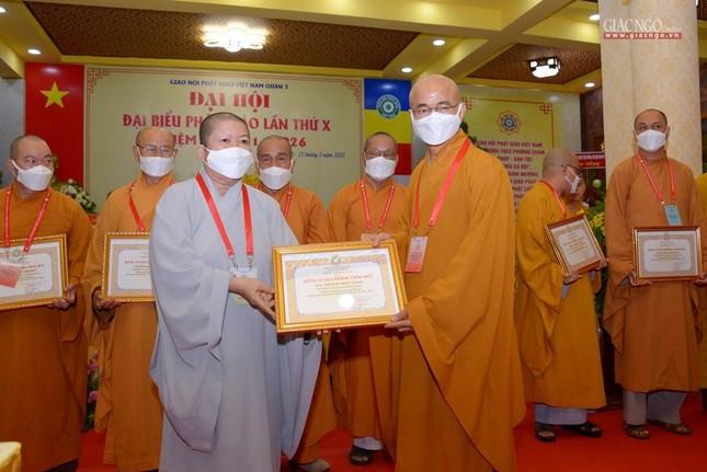 Đại hội đại biểu Phật giáo quận 3 đã suy cử Tân Ban Trị sự nhiệm kỳ 2021-2026 với 34 thành viên ảnh 23