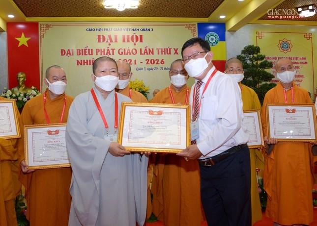 Đại hội đại biểu Phật giáo quận 3 đã suy cử Tân Ban Trị sự nhiệm kỳ 2021-2026 với 34 thành viên ảnh 26