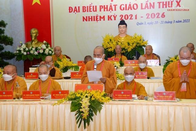 Đại hội đại biểu Phật giáo quận 3 đã suy cử Tân Ban Trị sự nhiệm kỳ 2021-2026 với 34 thành viên ảnh 28