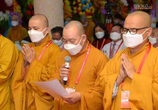 Đại hội đại biểu Phật giáo quận 3 đã suy cử Tân Ban Trị sự nhiệm kỳ 2021-2026 với 34 thành viên ảnh 30