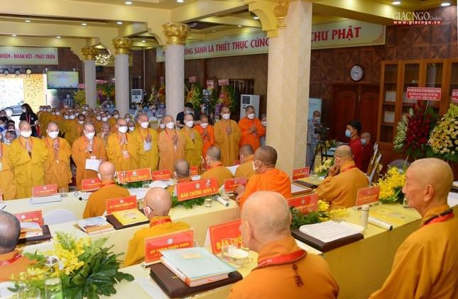 Đại hội đại biểu Phật giáo quận 3 đã suy cử Tân Ban Trị sự nhiệm kỳ 2021-2026 với 34 thành viên ảnh 6