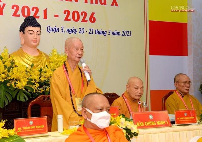 Đại hội đại biểu Phật giáo quận 3 đã suy cử Tân Ban Trị sự nhiệm kỳ 2021-2026 với 34 thành viên ảnh 7