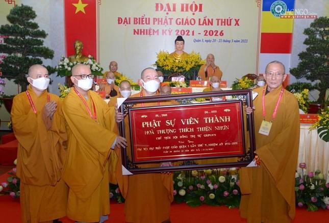 Đại hội đại biểu Phật giáo quận 3 đã suy cử Tân Ban Trị sự nhiệm kỳ 2021-2026 với 34 thành viên ảnh 33