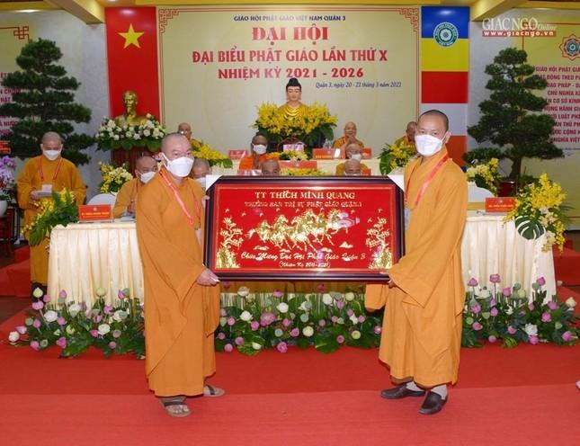 Đại hội đại biểu Phật giáo quận 3 đã suy cử Tân Ban Trị sự nhiệm kỳ 2021-2026 với 34 thành viên ảnh 34