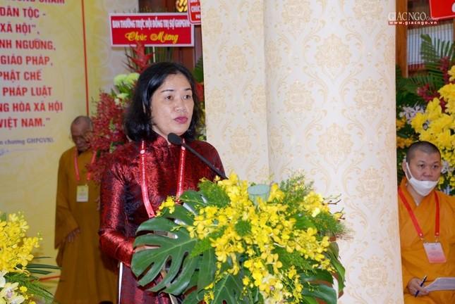 Đại hội đại biểu Phật giáo quận 3 đã suy cử Tân Ban Trị sự nhiệm kỳ 2021-2026 với 34 thành viên ảnh 8
