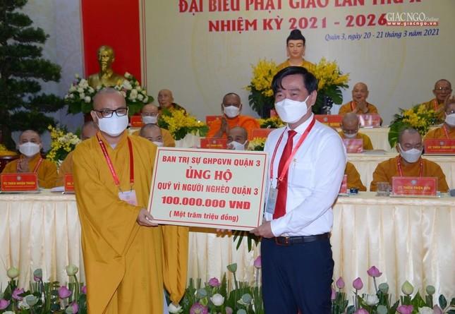 Đại hội đại biểu Phật giáo quận 3 đã suy cử Tân Ban Trị sự nhiệm kỳ 2021-2026 với 34 thành viên ảnh 36