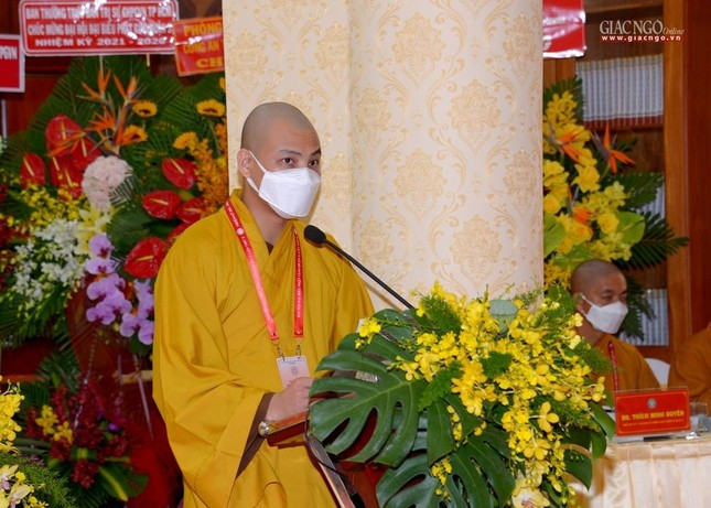 Đại hội đại biểu Phật giáo quận 3 đã suy cử Tân Ban Trị sự nhiệm kỳ 2021-2026 với 34 thành viên ảnh 38