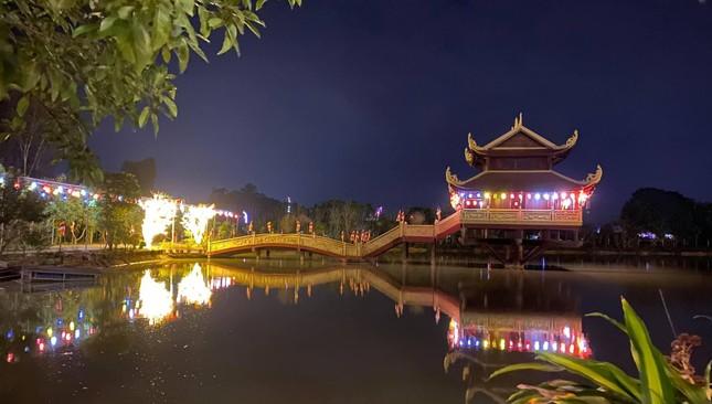Nghệ An: Thiền viện Trúc Lâm Yên Thành đúc tôn tượng Đức Bổn Sư nặng 4 tấn ảnh 1