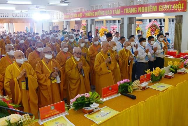 Đại hội đại biểu Phật giáo quận 10 lần thứ X nhiệm kỳ 2021-2026 thành công tốt đẹp ảnh 1
