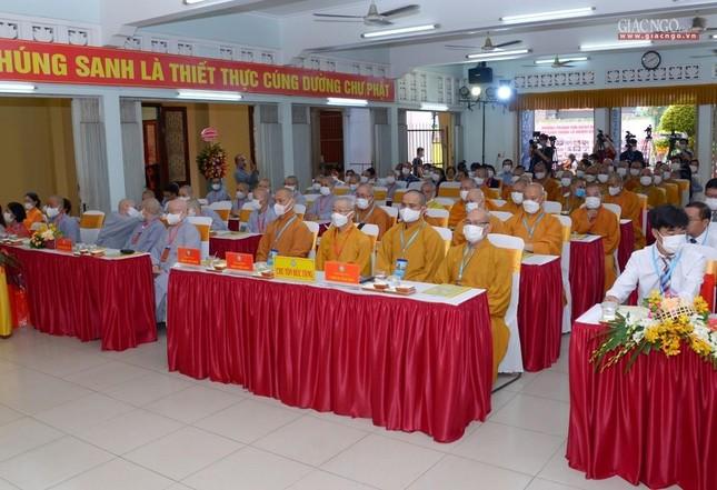 Đại hội đại biểu Phật giáo quận 10 lần thứ X nhiệm kỳ 2021-2026 thành công tốt đẹp ảnh 8