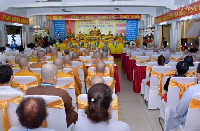 Đại hội đại biểu Phật giáo quận 10 lần thứ X nhiệm kỳ 2021-2026 thành công tốt đẹp ảnh 44