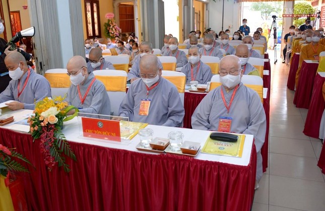 Đại hội đại biểu Phật giáo quận 10 lần thứ X nhiệm kỳ 2021-2026 thành công tốt đẹp ảnh 33