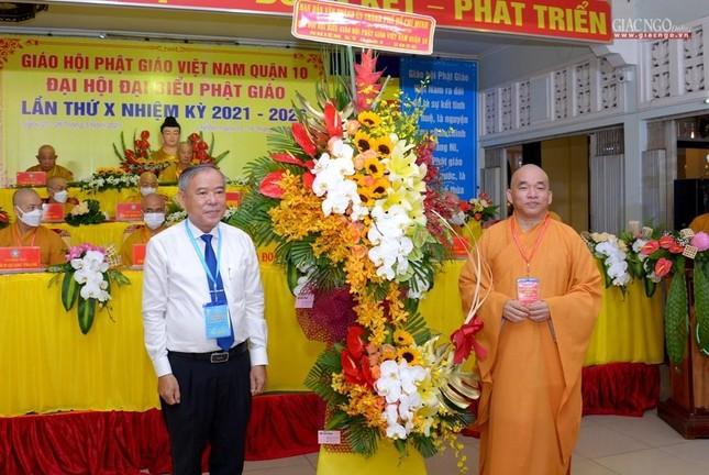 Đại hội đại biểu Phật giáo quận 10 lần thứ X nhiệm kỳ 2021-2026 thành công tốt đẹp ảnh 15