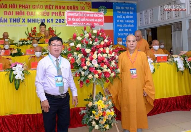 Đại hội đại biểu Phật giáo quận 10 lần thứ X nhiệm kỳ 2021-2026 thành công tốt đẹp ảnh 16