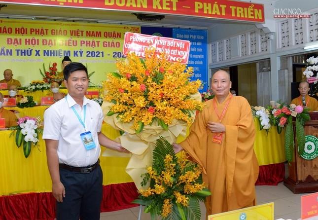 Đại hội đại biểu Phật giáo quận 10 lần thứ X nhiệm kỳ 2021-2026 thành công tốt đẹp ảnh 18