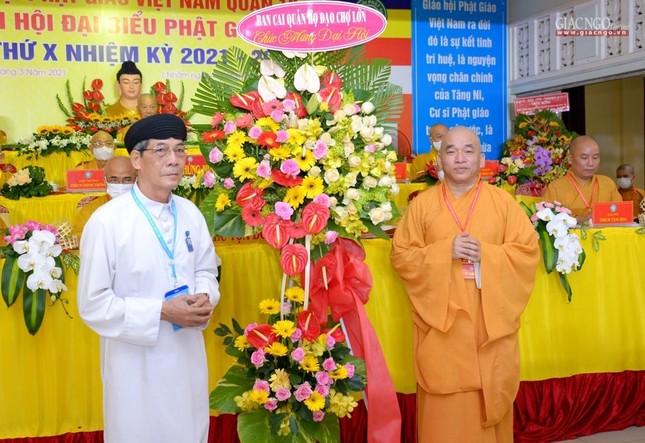 Đại hội đại biểu Phật giáo quận 10 lần thứ X nhiệm kỳ 2021-2026 thành công tốt đẹp ảnh 20