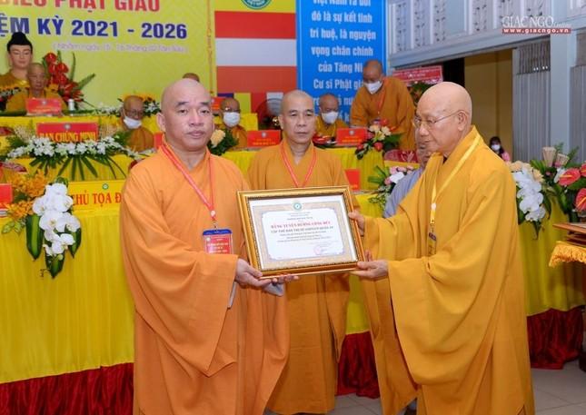 Đại hội đại biểu Phật giáo quận 10 lần thứ X nhiệm kỳ 2021-2026 thành công tốt đẹp ảnh 23