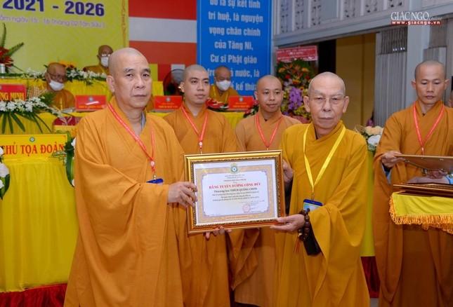 Đại hội đại biểu Phật giáo quận 10 lần thứ X nhiệm kỳ 2021-2026 thành công tốt đẹp ảnh 25