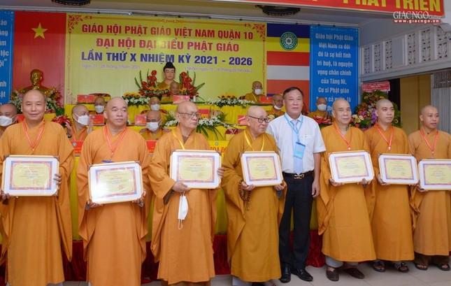 Đại hội đại biểu Phật giáo quận 10 lần thứ X nhiệm kỳ 2021-2026 thành công tốt đẹp ảnh 28