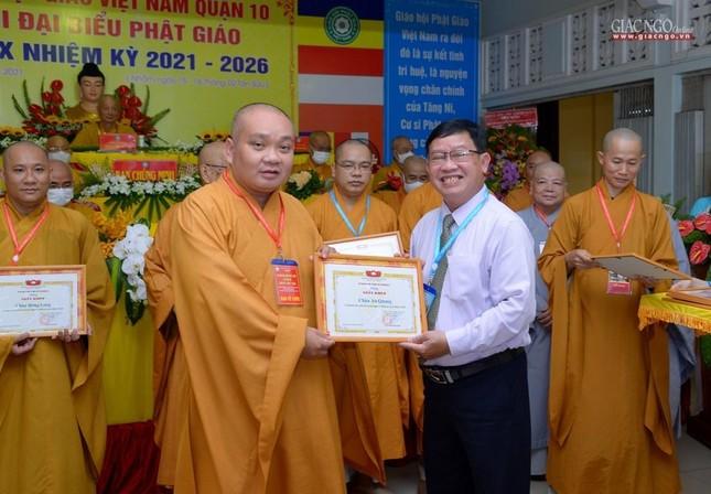 Đại hội đại biểu Phật giáo quận 10 lần thứ X nhiệm kỳ 2021-2026 thành công tốt đẹp ảnh 29
