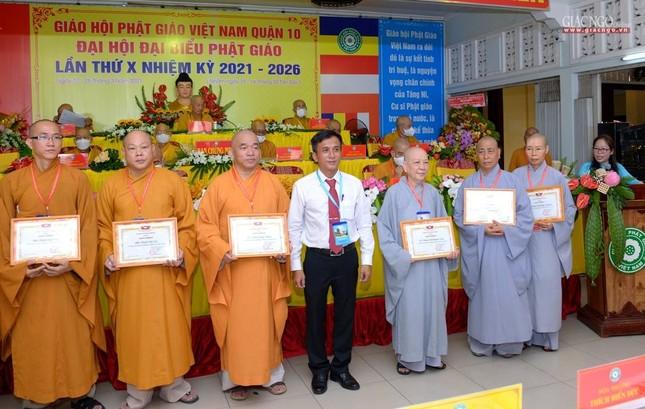Đại hội đại biểu Phật giáo quận 10 lần thứ X nhiệm kỳ 2021-2026 thành công tốt đẹp ảnh 31
