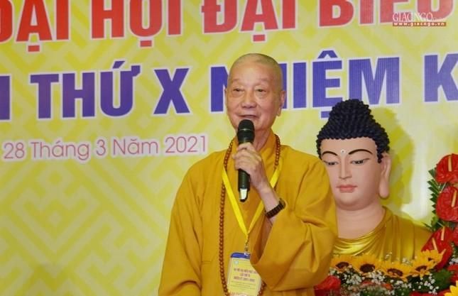 Đại hội đại biểu Phật giáo quận 10 lần thứ X nhiệm kỳ 2021-2026 thành công tốt đẹp ảnh 4