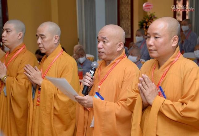 Đại hội đại biểu Phật giáo quận 10 lần thứ X nhiệm kỳ 2021-2026 thành công tốt đẹp ảnh 35