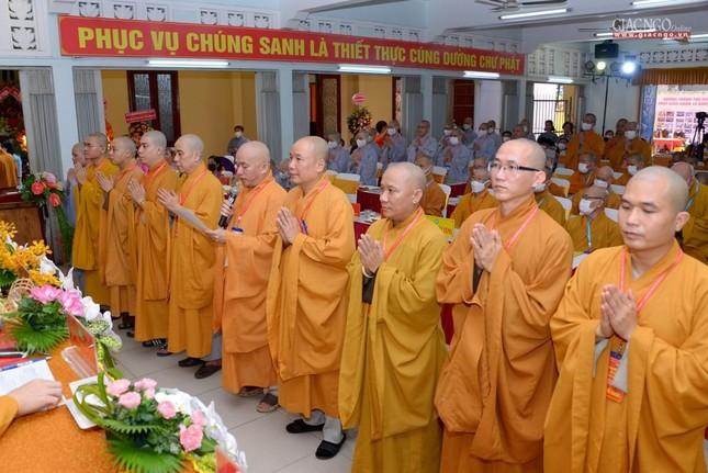 Đại hội đại biểu Phật giáo quận 10 lần thứ X nhiệm kỳ 2021-2026 thành công tốt đẹp ảnh 5