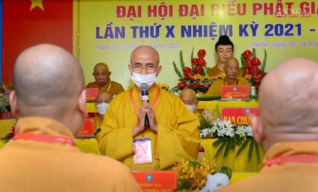 Đại hội đại biểu Phật giáo quận 10 lần thứ X nhiệm kỳ 2021-2026 thành công tốt đẹp ảnh 21