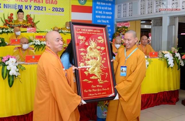 Đại hội đại biểu Phật giáo quận 10 lần thứ X nhiệm kỳ 2021-2026 thành công tốt đẹp ảnh 37