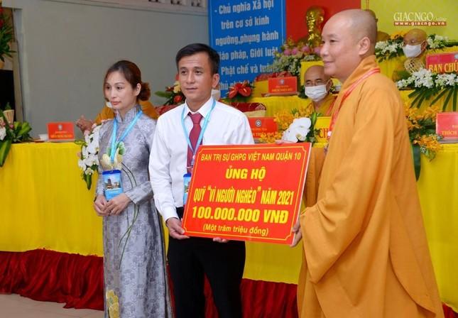 Đại hội đại biểu Phật giáo quận 10 lần thứ X nhiệm kỳ 2021-2026 thành công tốt đẹp ảnh 39
