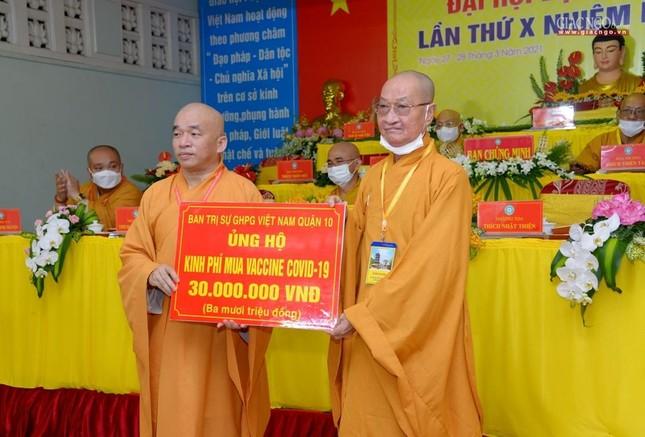 Đại hội đại biểu Phật giáo quận 10 lần thứ X nhiệm kỳ 2021-2026 thành công tốt đẹp ảnh 38