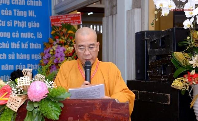 Đại hội đại biểu Phật giáo quận 10 lần thứ X nhiệm kỳ 2021-2026 thành công tốt đẹp ảnh 41
