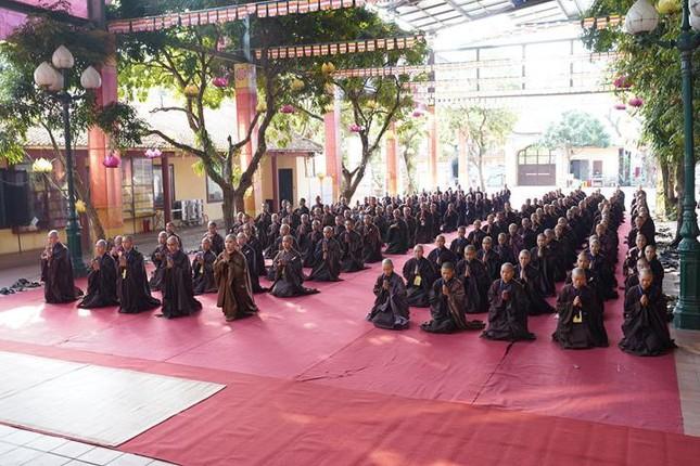 Hà Nội: Trang nghiêm khai mạc Đại giới đàn Phật lịch 2565 ảnh 14