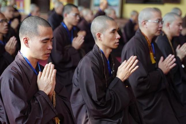 Hà Nội: Trang nghiêm khai mạc Đại giới đàn Phật lịch 2565 ảnh 16