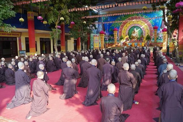 Hà Nội: Trang nghiêm khai mạc Đại giới đàn Phật lịch 2565 ảnh 21
