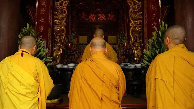 Hà Nội: Trang nghiêm khai mạc Đại giới đàn Phật lịch 2565 ảnh 2