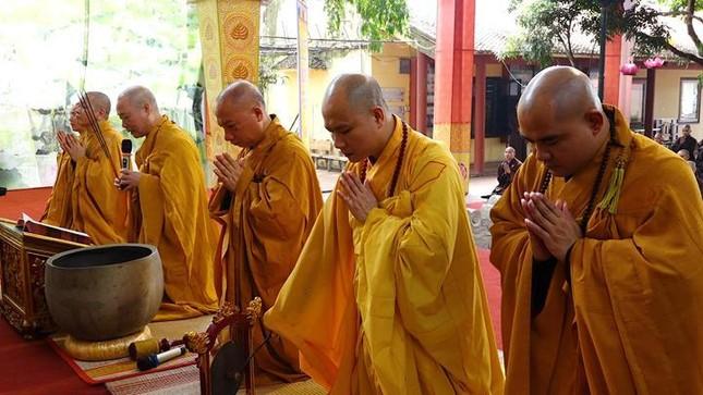 Hà Nội: Trang nghiêm khai mạc Đại giới đàn Phật lịch 2565 ảnh 3