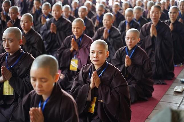 Hà Nội: Trang nghiêm khai mạc Đại giới đàn Phật lịch 2565 ảnh 25