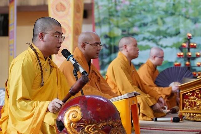 Hà Nội: Trang nghiêm khai mạc Đại giới đàn Phật lịch 2565 ảnh 26